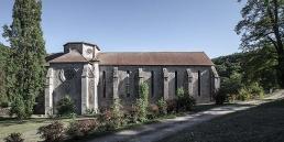 Abadía cisterciense de Bonlieu en cister .org