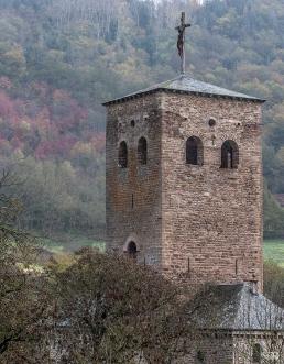 Torre de la abadía cisterciense de Bonnecombe