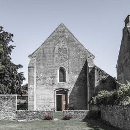 Galería fotográfica Fachada oeste de la iglesia cisterciense de Varennes