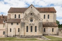 Ábside abadía cisterciense Noirlac