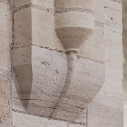 Capitel abadía cisterciense Noirlac