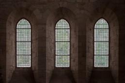 Vidrieras abadía cisterciense Noirlac