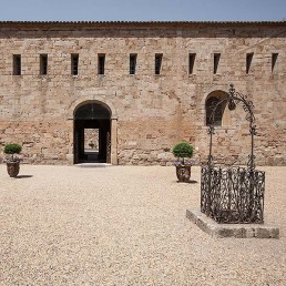 Galería fotográfica de patios cistercienses en cister .org