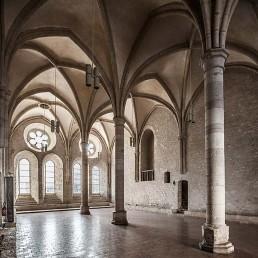 Galería fotográfica de refectorios cistercienses en cister .org