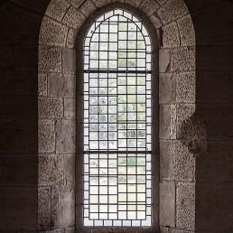 Galería fotográfica de vidrieras cistercienses en cister .org