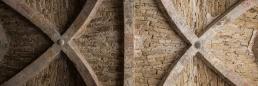 Sala capitular de la abadía cisterciense de Beaulieu