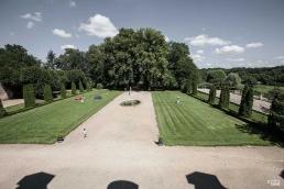 Jardines de la abadía cisterciense de La Ferté
