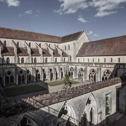 Galería fotográfica de claustros cistercienses en cister .org