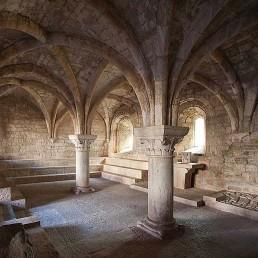 Galería fotográfica de salas capitulares cistercienses en cister .org
