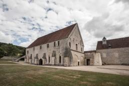 Edificio de los conversos de Noirlac