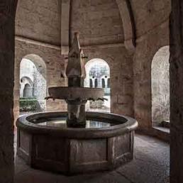 Galería fotográfica de lavabos cistercienses en cister .org